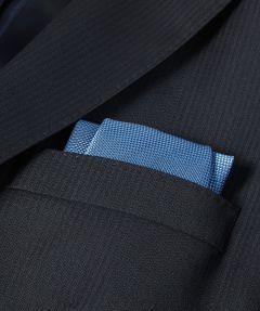 Jac Hensen pochet - blauw