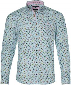 Colours & Sons overhemd - slim fit - blauw