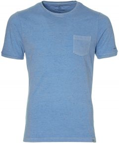 Colours & Sons t-shirt - slim fit - blauw