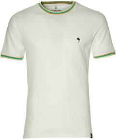Colours & Sons t-shirt - slim fit  - wit