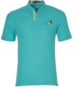Colours & Sons polo - slim fit - turquoise