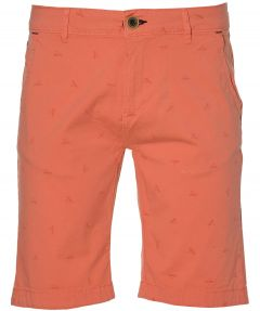 Colours & Sons short - slim fit - oranje