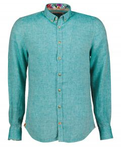 Colours & Sons overhemd - modern fit - turquo