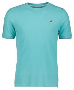 Colours & Sons t-shirt - modern  fit  - groen