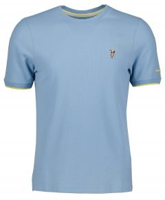 Colours & Sons t-shirt - modern  fit  - blauw