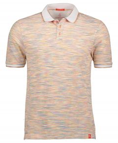 Colours & Sons polo - modern fit - oranje