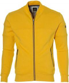 Jac Hensen vest - extra lang - geel