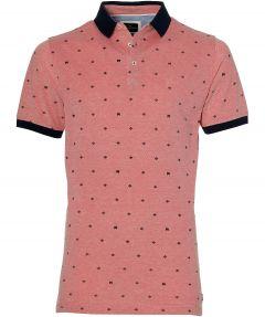 Jac Hensen polo - extra lang - roze