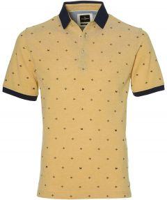 Jac Hensen polo - modern fit - geel