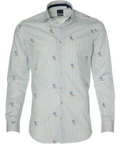 Nils overhemd - slim fit - wit