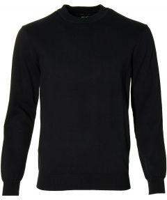 City Line by Nils pullover - slim fit - zwart