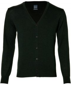 Nils vest - slim fit - groen