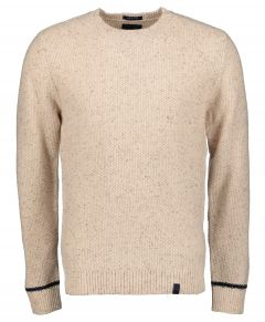 Colours & Sons pullover - modern fit - creme