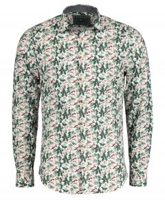 Colours & Sons overhemd - modern fit - groen