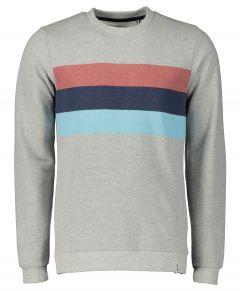 Anerkjendt sweater - slim fit - grijs
