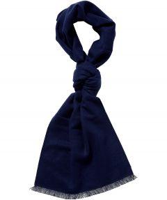 sale - Jac Hensen shawl - wol - blauw