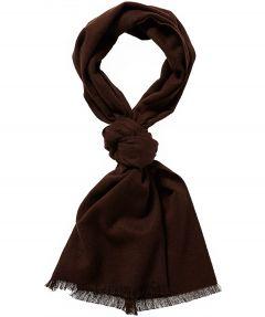 sale - Jac Hensen shawl - wol - bruin