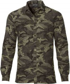 sale - Anerkjendt overhemd - slim fit - groen