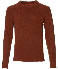 Anerkjendt pullover - slim fit - brique