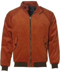 Anerkjendt jack - slim fit- oranje