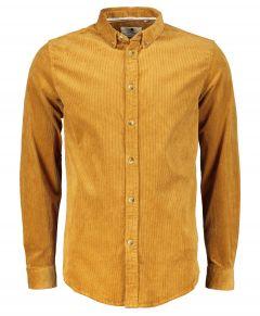 Anerkjendt overhemd - slim fit - oker