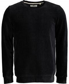 Anerkjendt pullover - slim fit - zwart