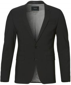 Digel colbert mix & match - slim fit - zwart