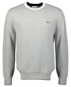 Lacoste pullover - modern fit - grijs