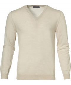sale - Matinique pullover - slim fit - creme