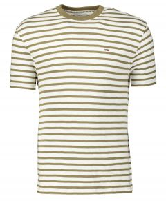 Tommy Jeans t-shirt - slim fit - groen