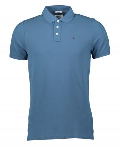Tommy Jeans polo - slim fit - blauw