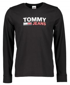 Tommy Jeans t-shirt - slim fit - zwart