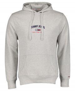 Tommy Jeans sweater - modern fit - grijs
