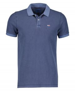 Tommy Jeans polo - modern fit - blauw