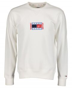 Tommy Jeans pullover - modern fit - wit