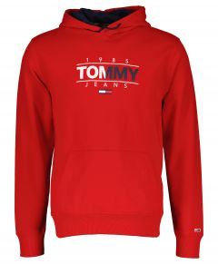 Tommy Jeans sweater - slim fit - rood