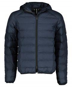 Ecoalf jack - modern fit - blauw
