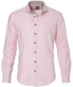 sale - Hensen overhemd - slim fit - roze