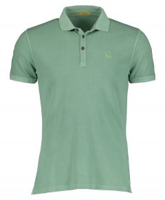 New in Town polo - slim fit - groen
