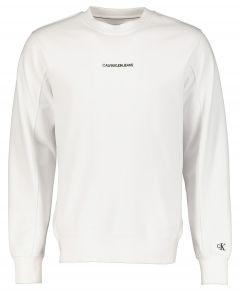 Calvin Klein pullover - slim fit - wit