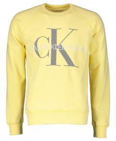 Calvin Klein sweater - slim fit - geel
