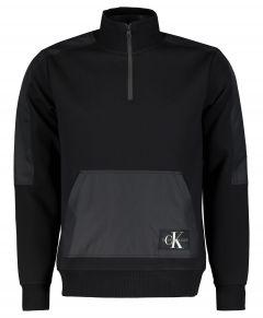 Calvin Klein sweater - slim fit - zwart