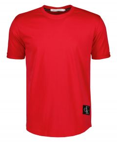 Calvin Klein t-shirt - slim fit - rood