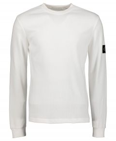 Calvin Klein T-shirt - slim fit - wit