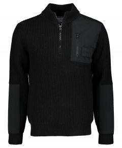 Calvin Klein polo - slim fit - zwart