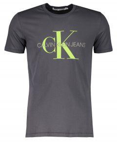 Calvin Klein t-shirt - slim fit - grijs