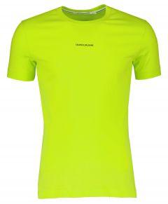 Calvin Klein t-shirt - slim fit - groen