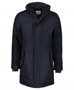 New in Town jas - slim fit - blauw