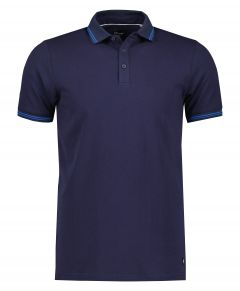 City Line by Nils polo - slim fit - blauw