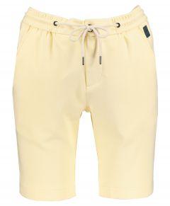 Hensen short - slim fit - geel